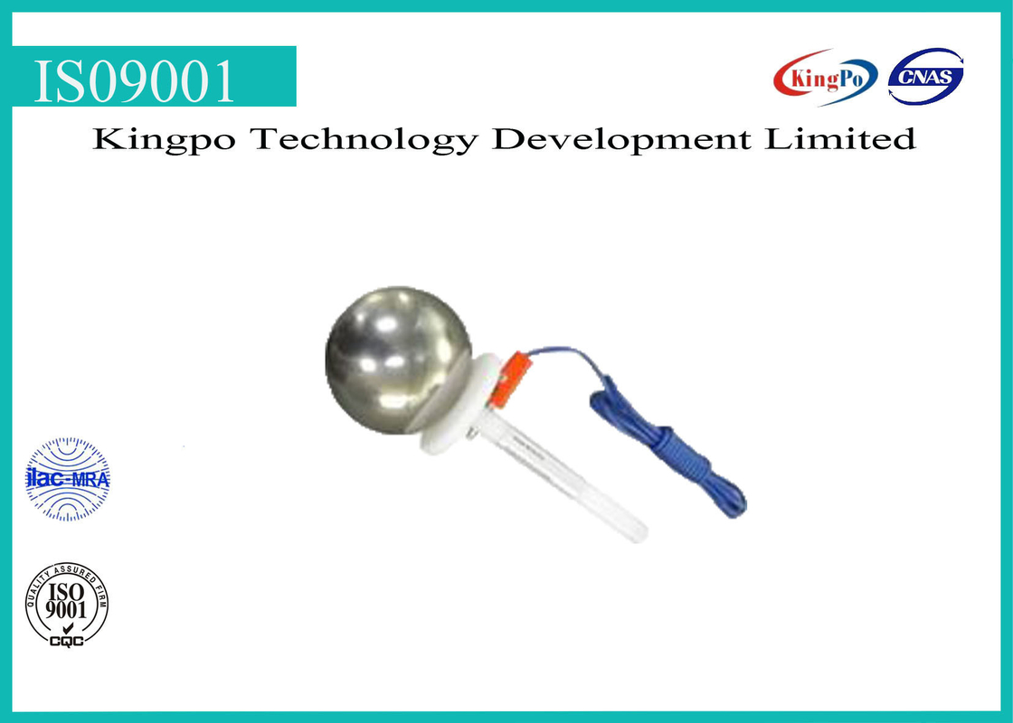 Professional Test Finger Probe IEC 60529 Test Sphere 50mm IP1X